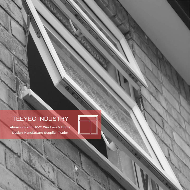 Teeyeo pvc top hung small awning window stay suitable for South Africa