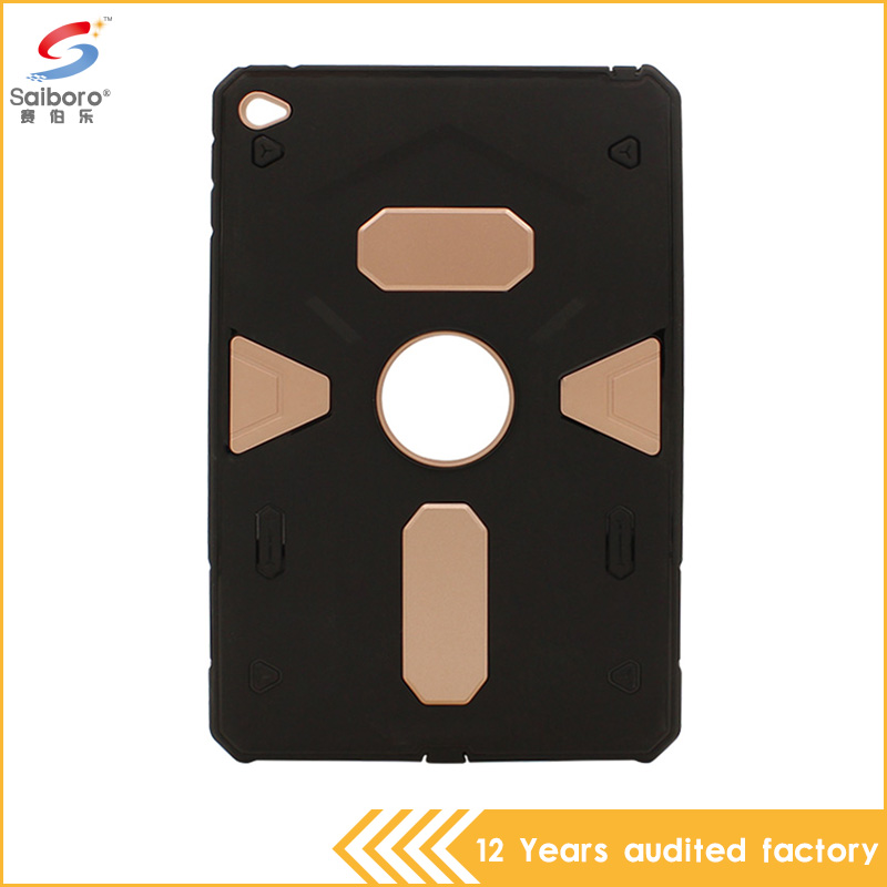 Top selling in alibaba armor pc tpu hybrid protective defender case for iPad mini 4