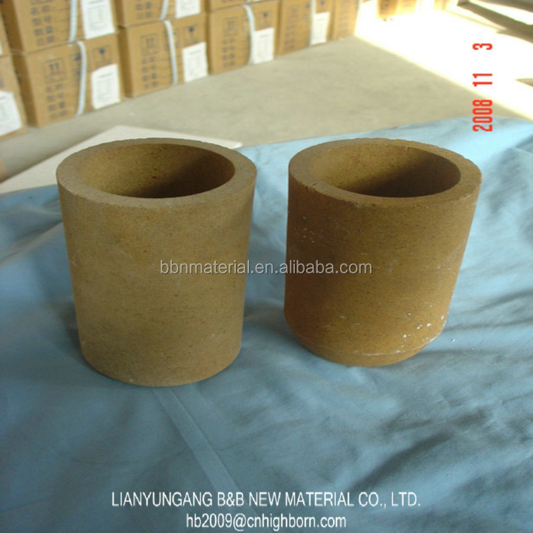Factory Magnesia Crucibles Gold Melting Cupel In Ceramic