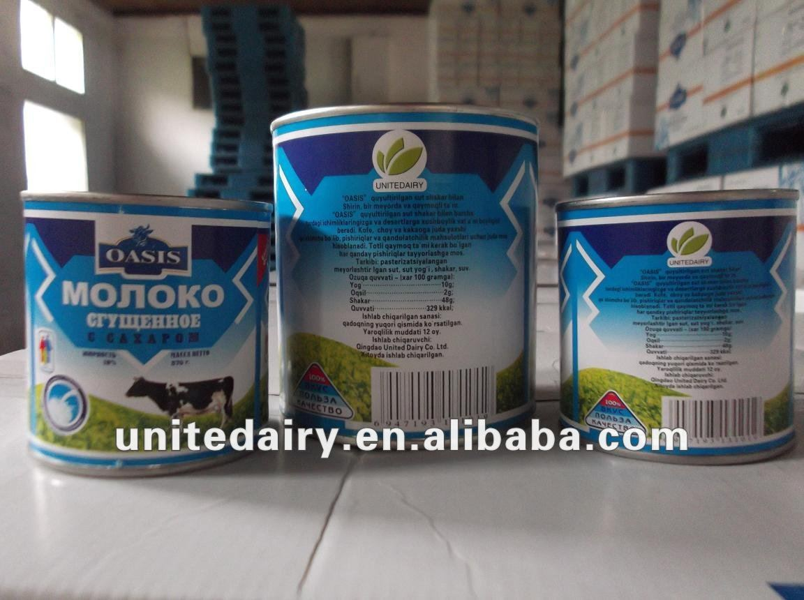 Sweetened Condensed milk filled 4.6% protein
