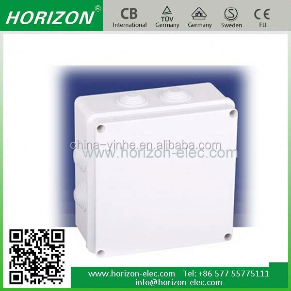 low price ip65 ABS plastic SH-Q3801 waterproof 50mm solar panel junction box