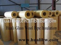 Glasswool/glass wool pipe/tube insulation