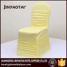 Jinyaotai wholesale disposable chair covers with white colour lace sashes