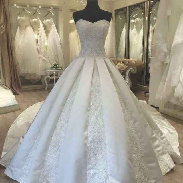 african style wedding dresses_Yuanwenjun.com