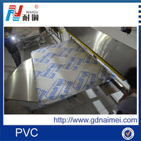 hot blue film/2350mm printed width pvc film