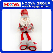 2014 handmade cute hot selling wholesale Santa Claus doll for Christmas