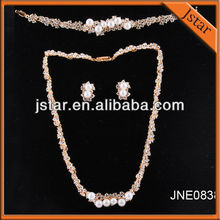 New arrival fashion cheap style pearl necklace jewelry