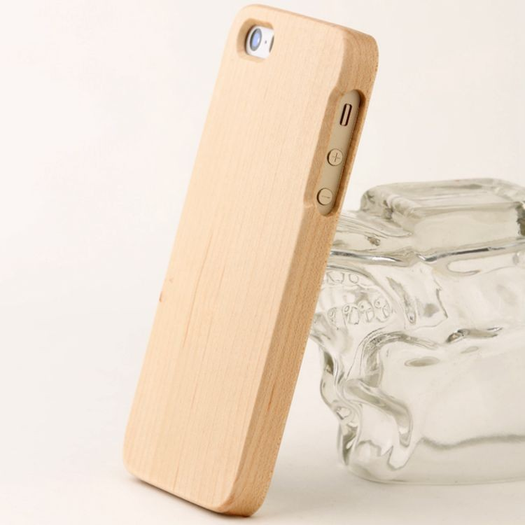 mobile/cell phone wood case/cover/skin of phone 5/5S/5SE