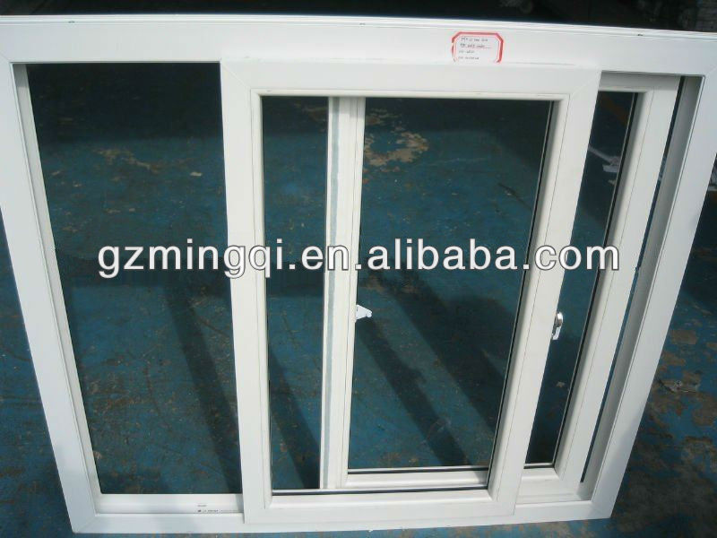 pvc sliding embedded touch screen windows