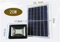 CE ROHS approved SMD solar led flood light