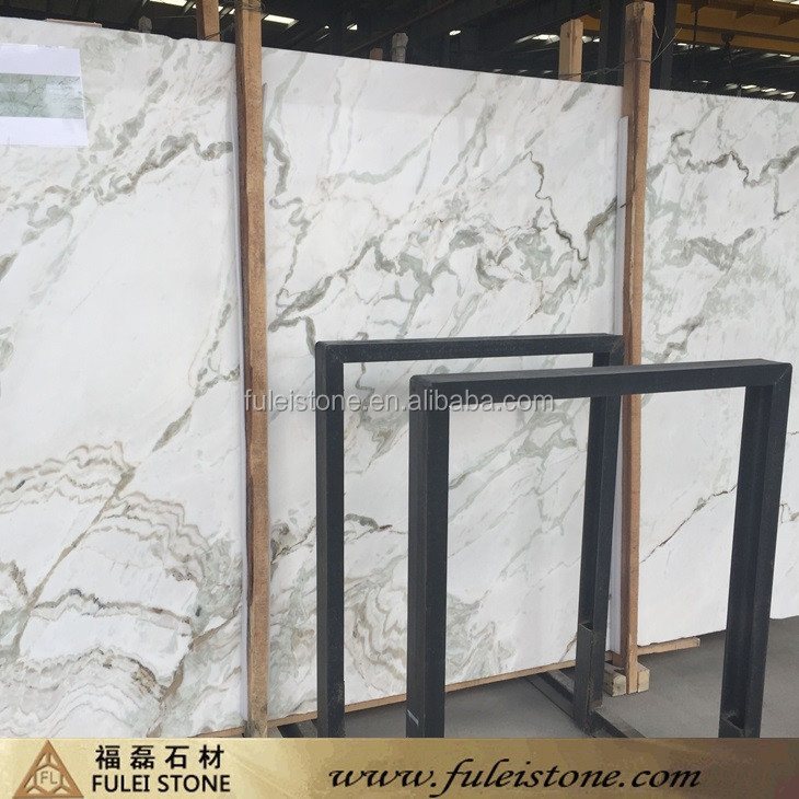 Good Interior Decoration Material New Calacatta White Marble