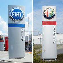 Standing advertising signage for car shop auto dealer signs