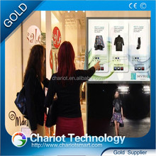 ChariotTech Interactive multi touch screen, touch Foil Film easy to install on the window glass with cheap price.