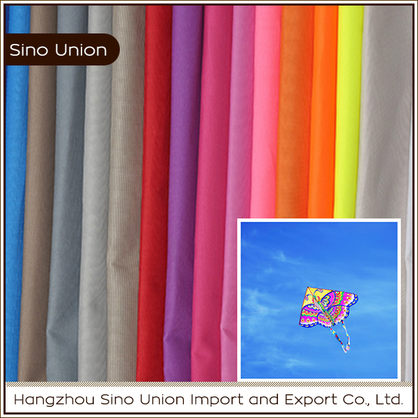 China manufacturer good quality 300d 100% polyester waterproof material fabric for kites