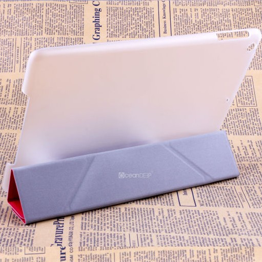2014 popular product smart cover for ipad air leather case