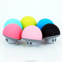 Wireless Bluetooth Mini Speaker Mushroom Waterproof Silicon Suction Cup Handfree Holder Music Player for all mobile phone