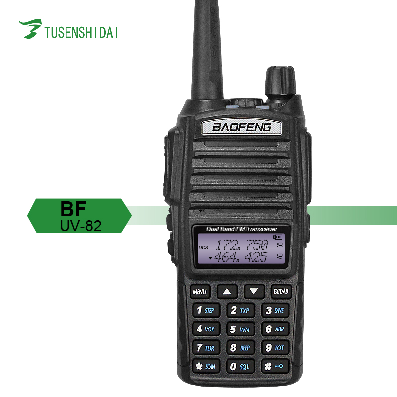 High power 8W Baofeng UV-82 Dual Band handheld radio transceiver VHF UHF Digital Two Way Radio with Big Capacity and wifi