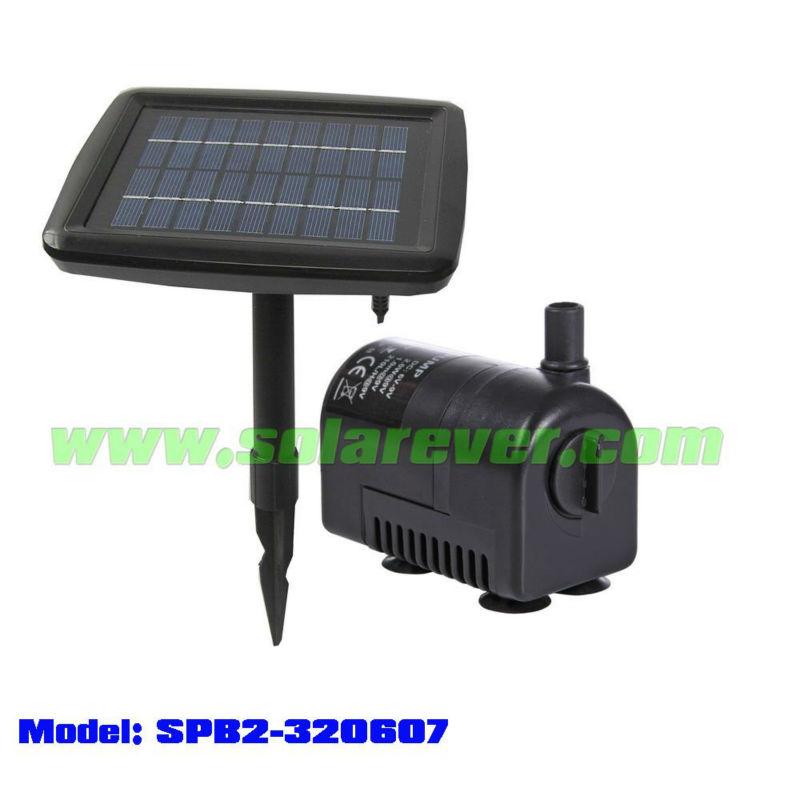 Irrigazione a goccia solare pompa spb2 320607t altri for Pompa filtro laghetto solare