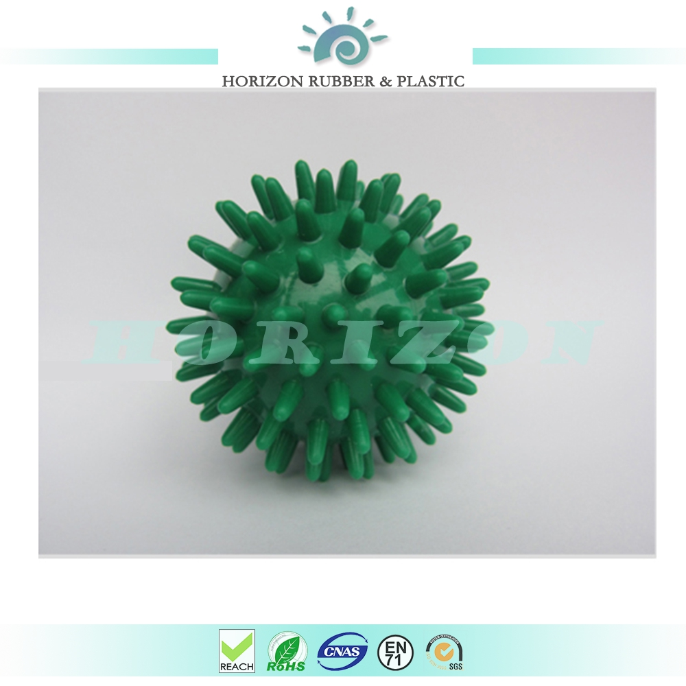 Fitness Ball Spiky Massage Ball Lacrosse Small Rubber Ball For Muscle Relief