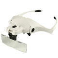 Interchangeable Head Eye Magnifying Glasses With Lamp PMU accesories