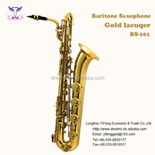 Wholesale Teaching Musical Instruments of Baritone Sax with Italy Pad