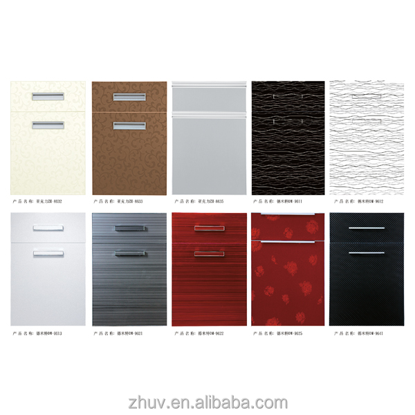 China professional modular kitchen cabinet color for Kitchen colour combinations with black platform