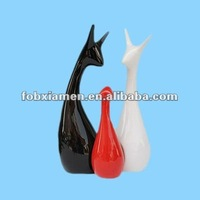 Ceramic Home Furnishing Deer Modern Figurine Home Decor
