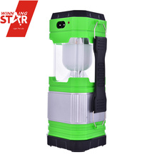 Solar Rechargeable Small Portable Outdoor Led Camping Lantern
