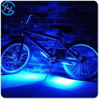 Car Motorcycle Cycling Bike Bicycle Tire Wheel Valve 16 LED Flash Spoke Light