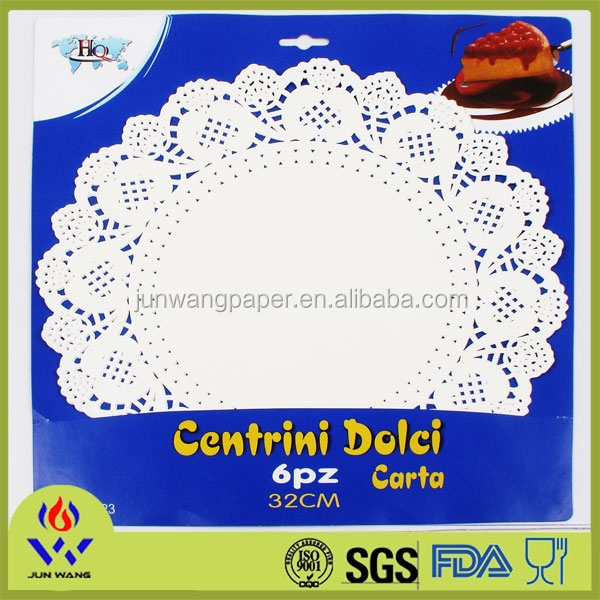 12.5 inch round placemat disposable paper placemats