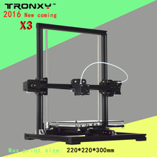 Auto leveling High precision industrial metal framework tronxy 3d printer X3 Newest model