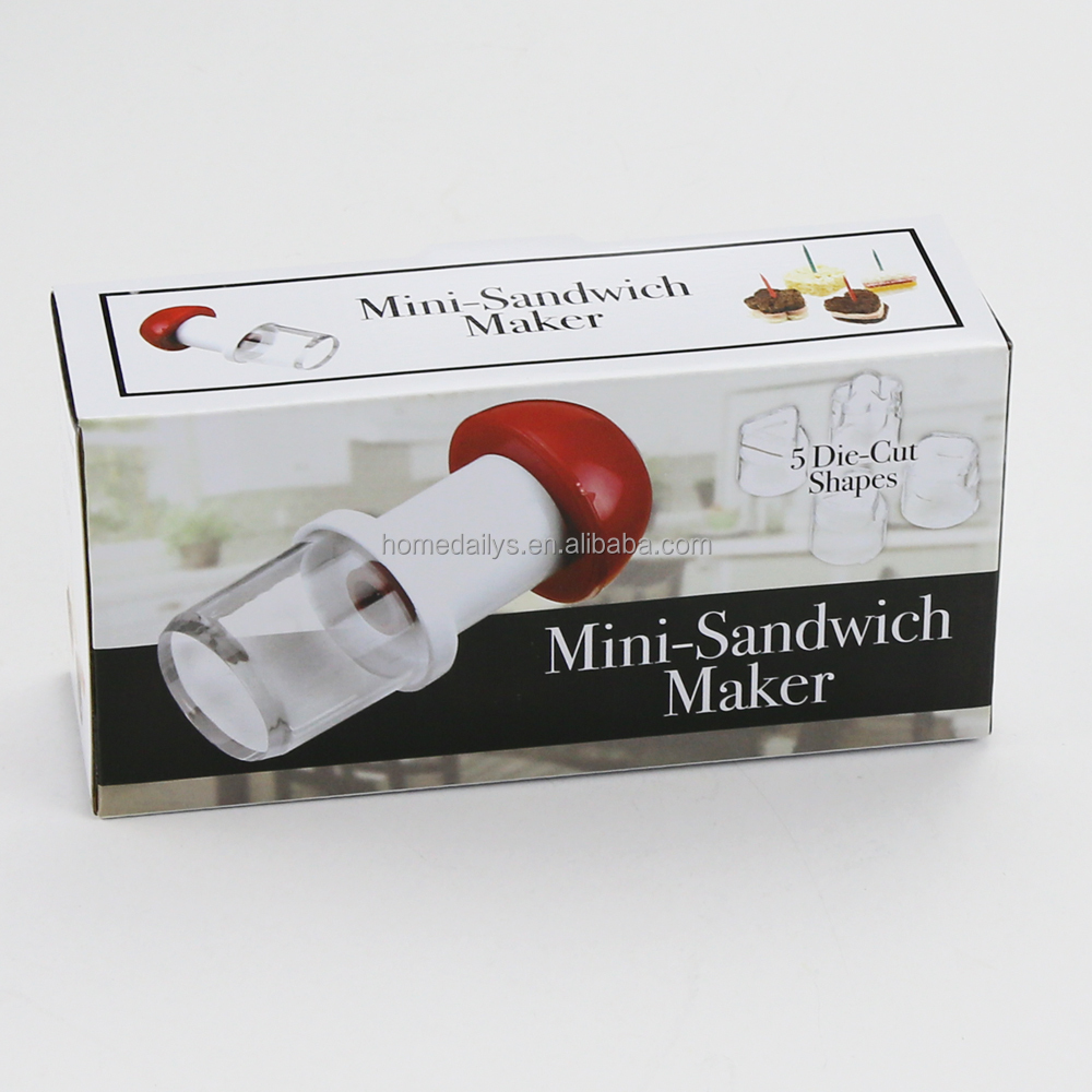 Plastic Mini-Sandwich Maker