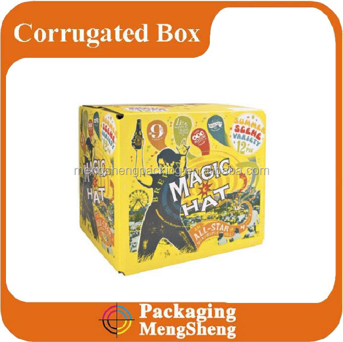 corrugated outer medium paper carton box packaging