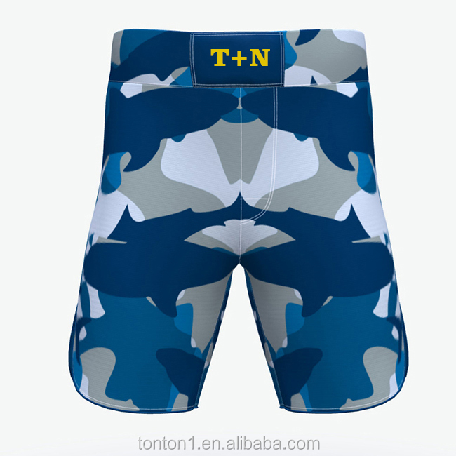 Wholesale cheap custom printed sublimated mma shorts