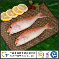 Hot selling frozen fish natural seafood IQF frozen golden threadfin bream
