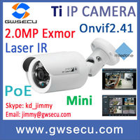 2 Megapixel Sony Exmor CMOS HD Water-proof IR Mini bullet Network Camera Onvif Profile S 1080p hd poe ip camera p2p mobile
