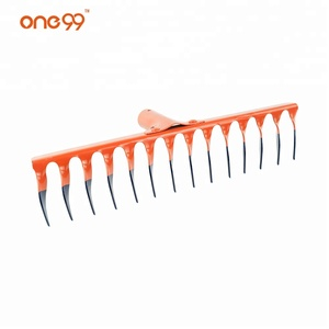 2018 new style 14 Tines Garden steel level grass rake of tractor