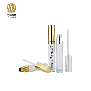 6 ml coated transparent lip gloss tube container