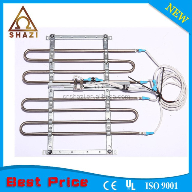 electric tubular heater for standing air conditioner