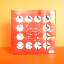 White Tea light Candle in Red Paper Box, 50pcs/box, Walmart Vendor, Candle Factory, 10 Years Production Experience