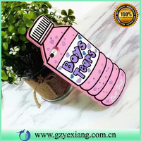China manufacturer lovely bottle design cellphone case cover for iphone 5 cute silicon case