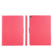 Many color for litchi skin pu leather +PC hard tablet case with stand function for ipad air, for ipad mini