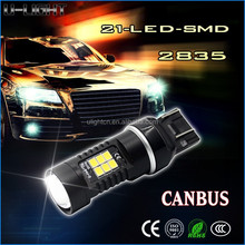 Factory 12v-24v LED Auto Bulb Tail light T20 7440/7443 2835 SMD car led light