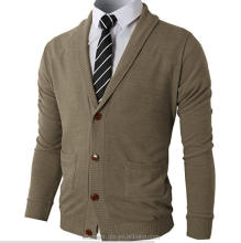 Mens Slim Fit Soft Cardigan Sweater with Ribbing EdgeGentle Mens V neck Fit Button Cashmere Button Cardigan