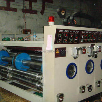 Machine equipment for carton production of platform die cutting machine