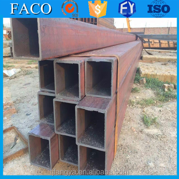 Tianjin square rectangular pipe ! din 2458 steel pipe types of mild steel pipe furniture sofa set