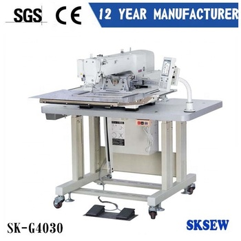 Automatic Juki programmable industrial sewing machine for shoes