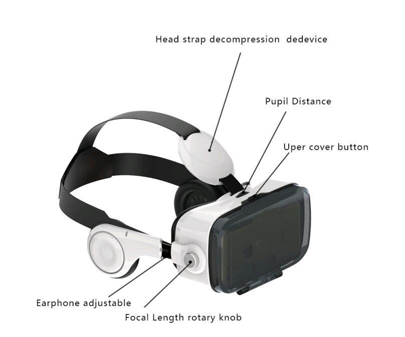 future technologies 2017 Virtual Reality Glasses Cardboard 3D VR glasses