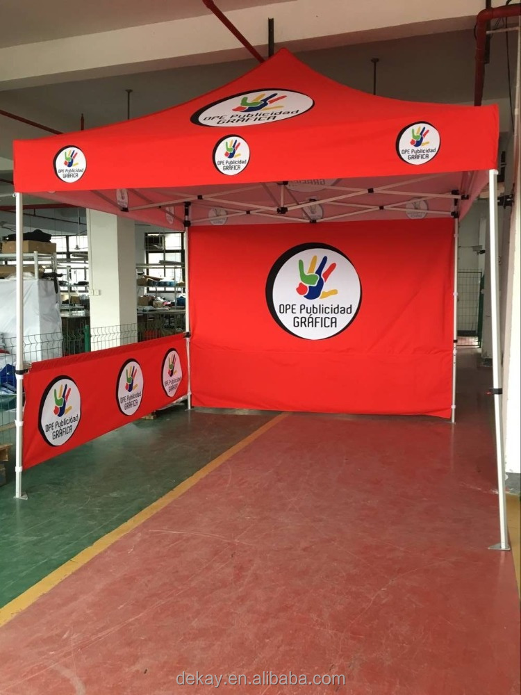3x3m promotional tents display printed canopy 10x10ft folding tent