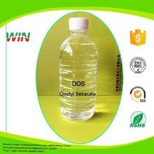 Chinese manufacturer is supplying industrial grade competitive chemical durability plasticizer.DOS(dioctyl sebacate)